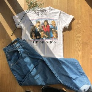 Vintage Friends Graphic Tee
